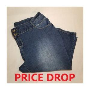 Catherines Plus Size Capri Jeans
